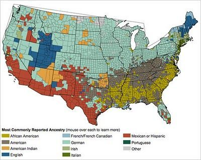 Ethnic Map Of Usa Maps Map Historical Maps Us Map - Us-map-by-ethnicity