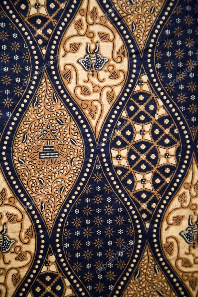 Detail of a batik design from Indonesia   Seni tekstil ...