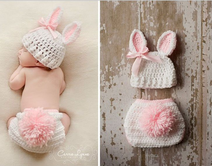 3 Newborn to Toddler Sizes up to 24 Months Baby Girl Pink Cat Hat with Ears