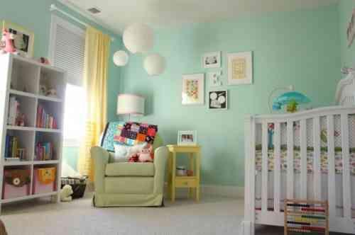 Déco de la chambre bébé fille sans rose en 25 idées super | Alix ...