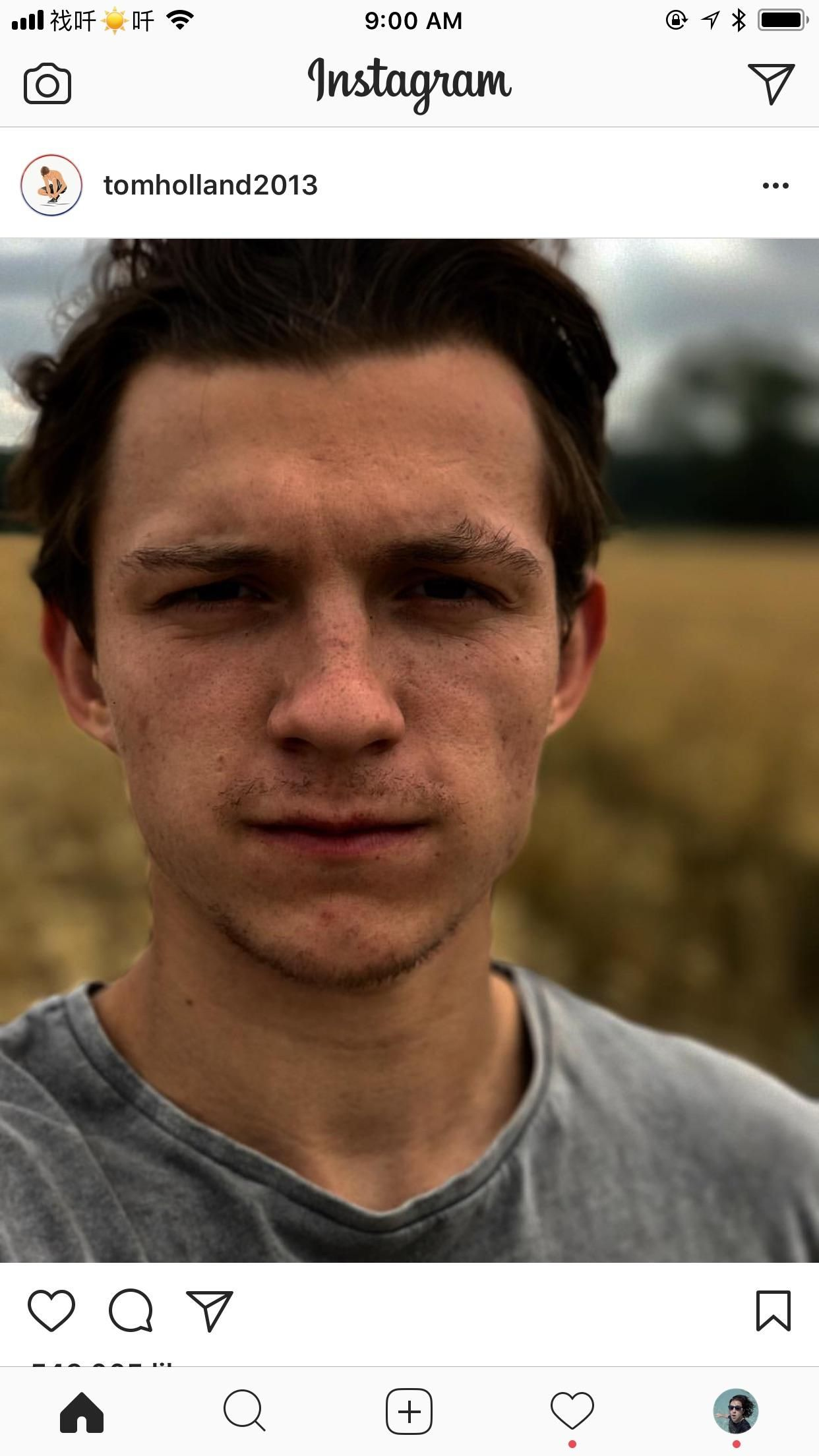 Tom Holland Looking Like Nathan Drake On Instagram Uncharted