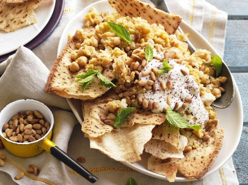 Special Ramadan: fatteh hummus