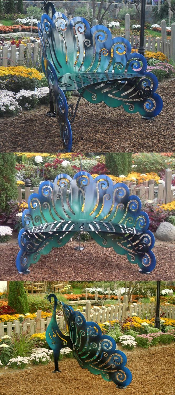 Pretty peacock bench peacock pandemonium pinterest peacocks