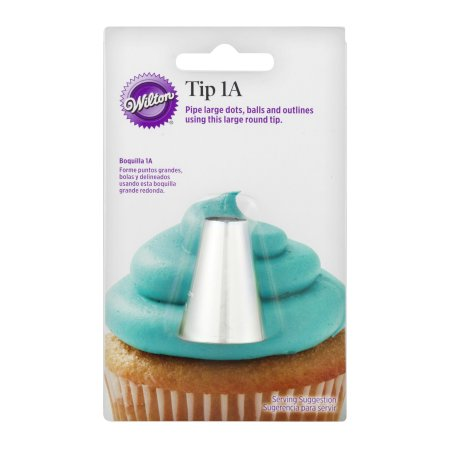 Wilton Round Cake Decorating Tip 1a Walmart Com Wilton Tips Cake Decorating Tips Cake Decorating Supplies