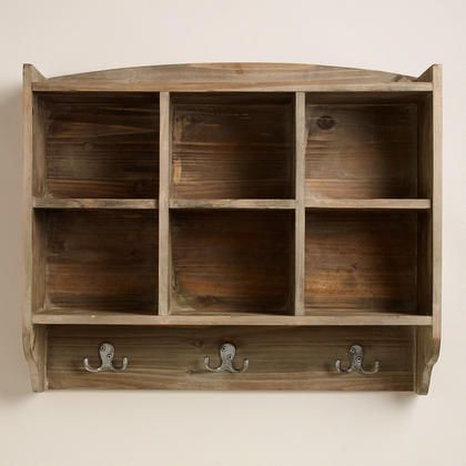 Black Thomas Cubby Wall Storage World Market
