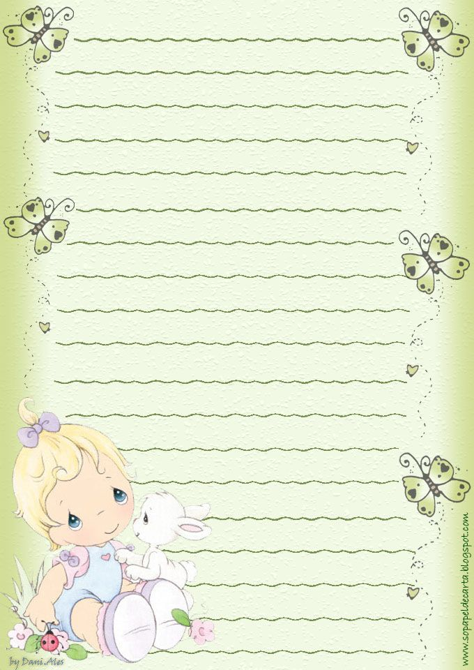 ✿ ❀ ❁✿ ❀ ❁✿ ❀ ❁✿ ❀ ❁ Clipart Pinterest Stationary - free printable lined stationary