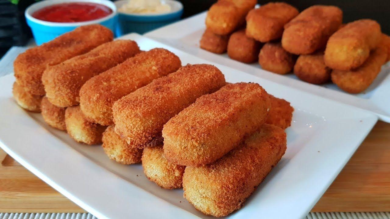 اصابع كفتة البطاطس والدجاج المقرمشة لاطيب والذ عشا Youtube Food Cooking Recipes Recipes