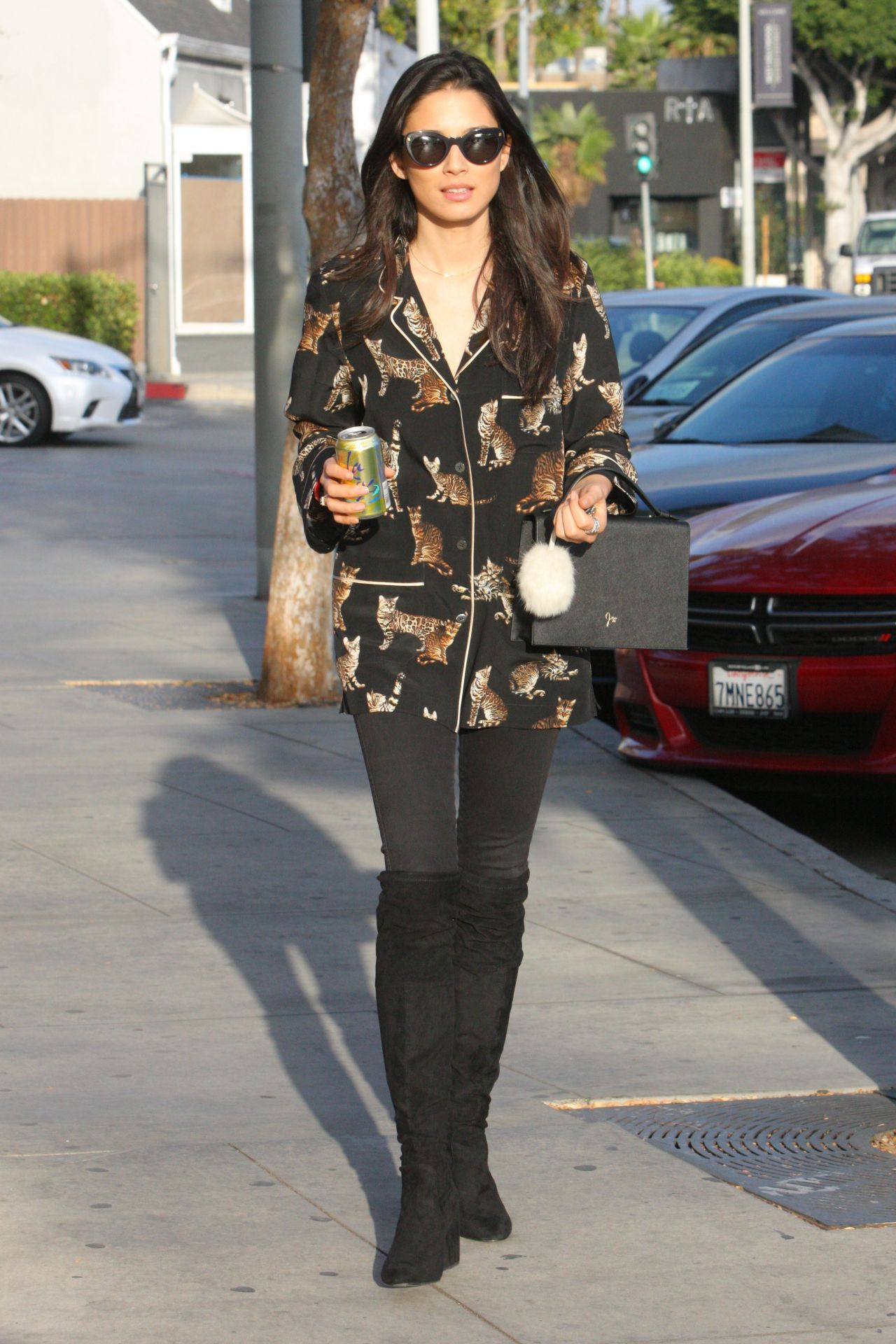 Jessica gomes in casual attire west hollywood new picture