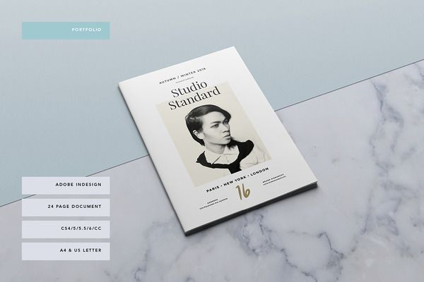Studio Lookbook by Studio Standard on Creative Market D I Y - studio brochure