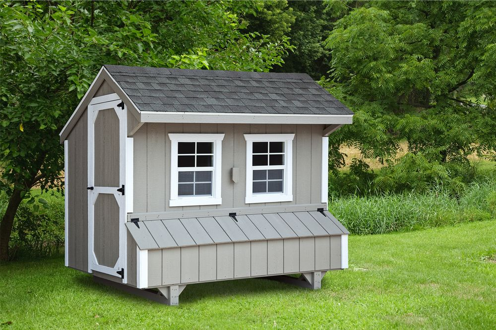 Best Ihs Quaker Style 5X8 Chickens Backyard Building A 400 x 300