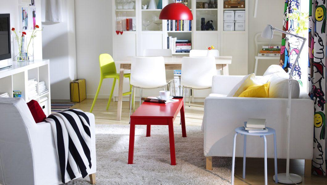 IKEA Österreich, Inspiration, Wohnzimmer, Möbel Mit Doppelfunktion; Ein  Wohnraum Mit KARLSTAD 2er