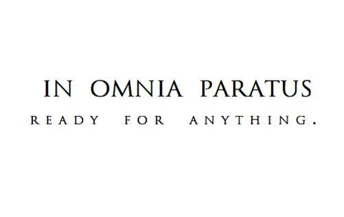 In Omnia Paratus - Ready For Anything on We Heart It
