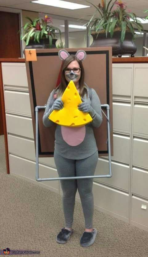 Mouse in a trap Halloween costume #mousetrap