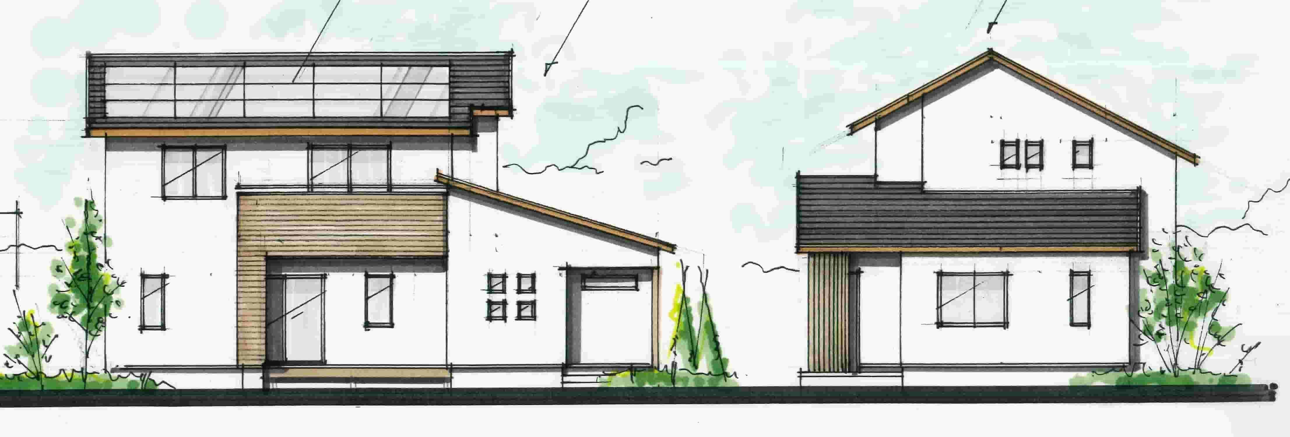 1階に寝室のある間取り 家のデザイン 間取り 平屋 外観 デザイン