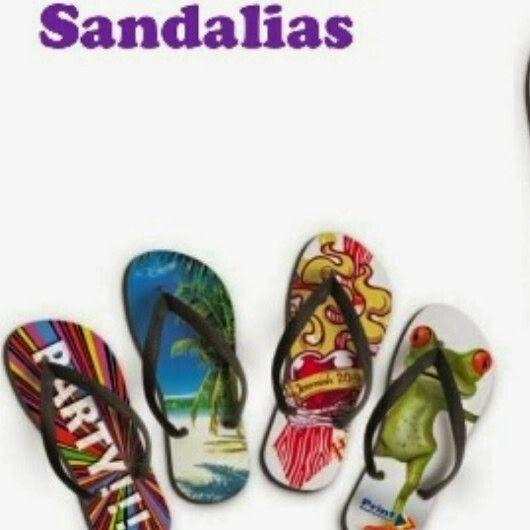 Sandalias playera