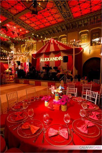 carnival themed table decor prom 2017 in 2018 pinterest