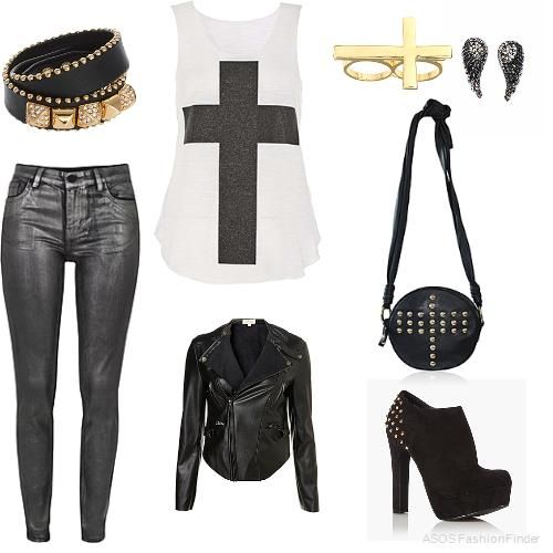 Cool outfits for teenage girls - Google Search | cute outfits | Pinterest | Rock outfits Rock ...