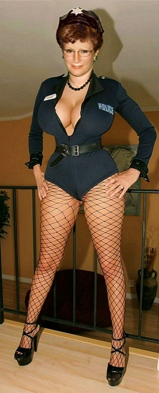 Moyra Melons  Dirty Cop  Sexy Mature-2707