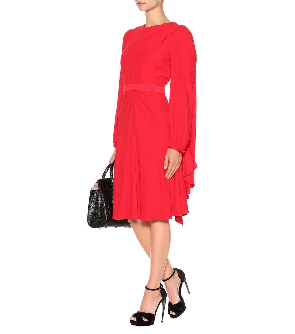Alexander mcqueen longsleeved dress mytheresa moda que