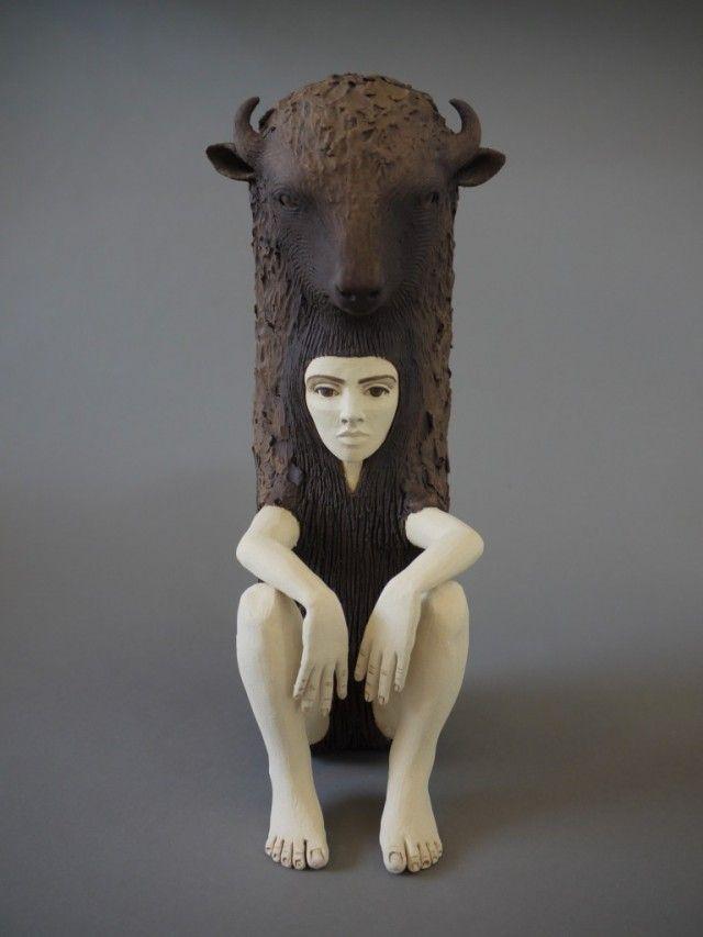 Crystal Morey Ceramic Sculptures Ceramic Sculpture Animal Sculptures Sculpture