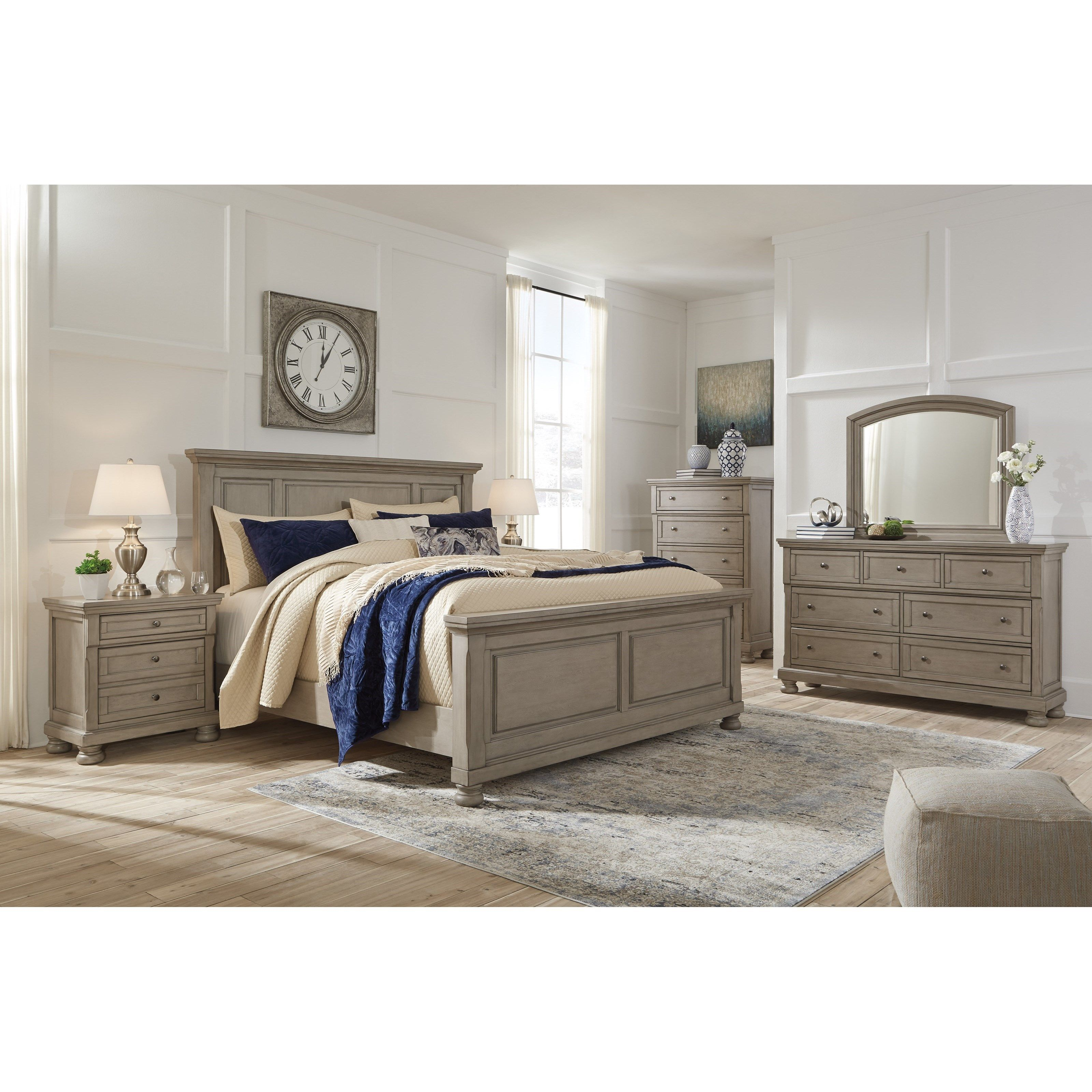 Lettner King Bedroom Group By Ashley Signature Design At Johnny