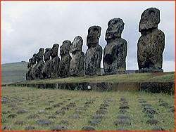 Easter Island, one of the Great Unsolved Mysteries of the World