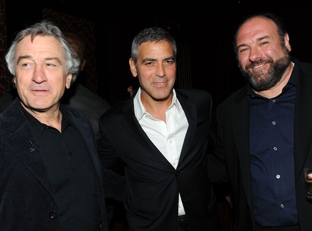 Robert Deniro George Clooney James Gandolfini Actors Sopranos