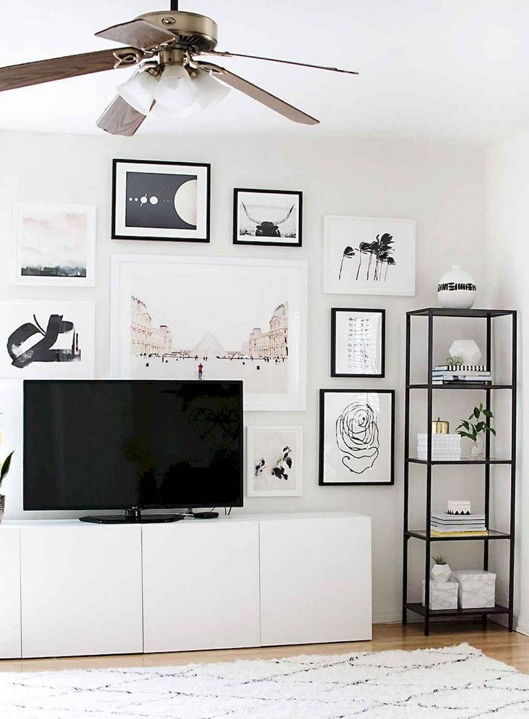 59 Best Tv Wall Living Room Ideas Decor On A Budget Livingroomideas Livingroomfurniture Livin Living Room Tv Wall Ikea Living Room Living Room Scandinavian
