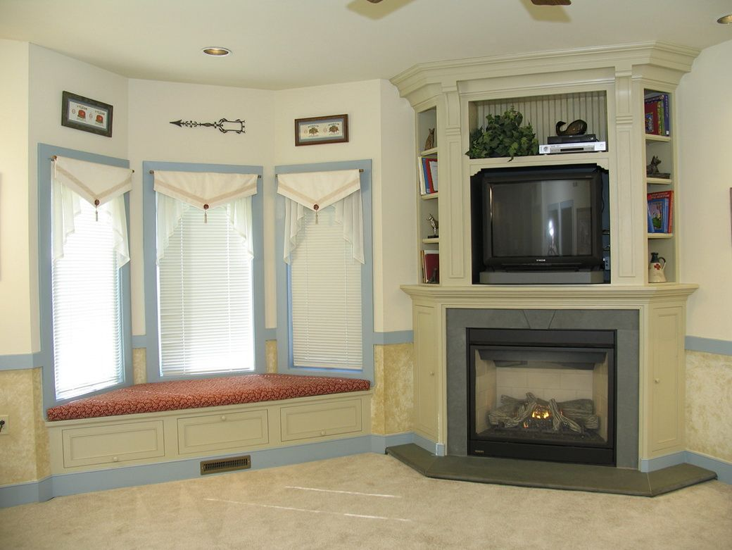 Corner Fireplace Mantels with TV Above Fireplace Pinterest