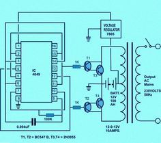 Circuit Diagram of Solar Inverter for Home | Electronics ... on home inverter generator, power inverter diagram, how an inverter works diagram, home inverter system, grounding riser diagram, wave diagram, inverter schematic diagram, simple house diagram, circuit diagram, home security basic block diagram, home motor,