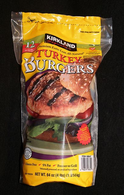 How to cook a frozen turkey burger in oven