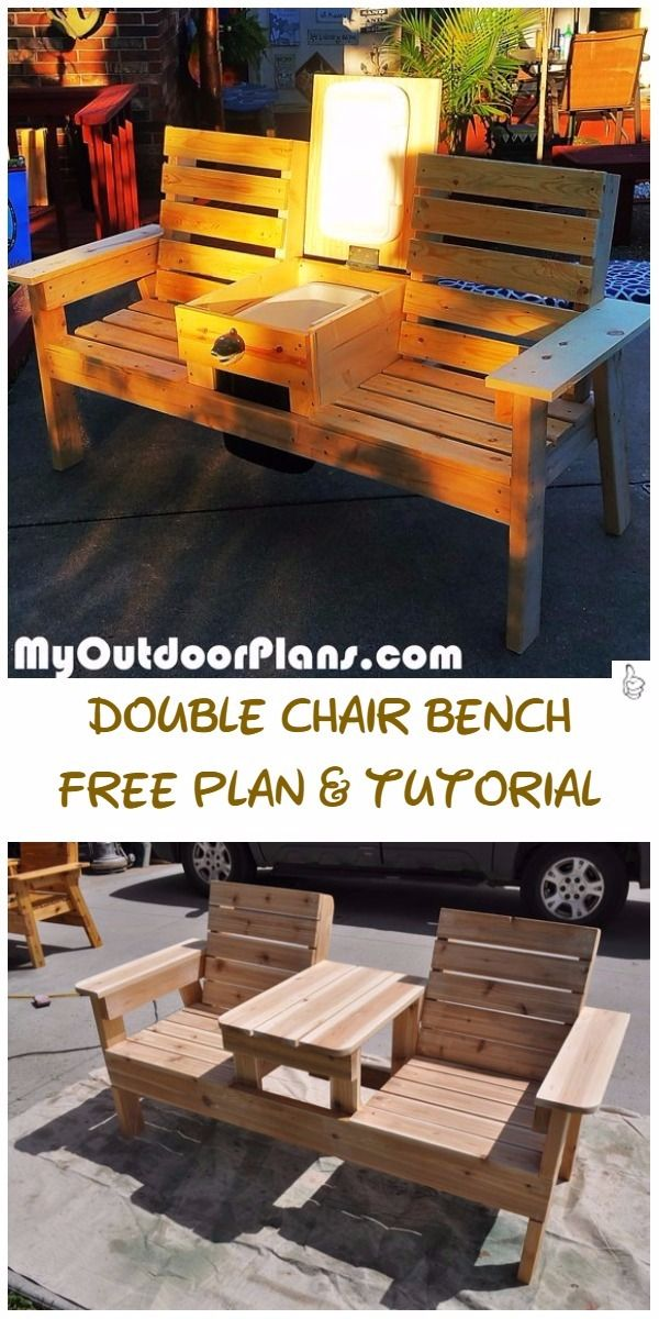 Bench DIY Outdoor Seating Projects Tutorials