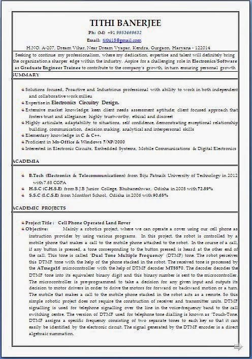 cv mal word Sample Template Example ofExcellent Curriculum Vitae - digital electronics engineer resume
