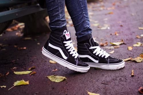 vans old skool hi tumblr
