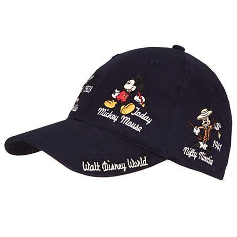 Mickey Mouse Baseball Cap for Adults - Mickey Thru the Years  9c0cbb5c5a6