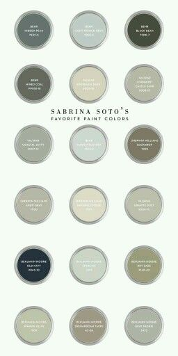 Best of Sabrina Soto Favorite Paint Colors via CASA & pany Minimalist - Luxury neutral gray paint Contemporary