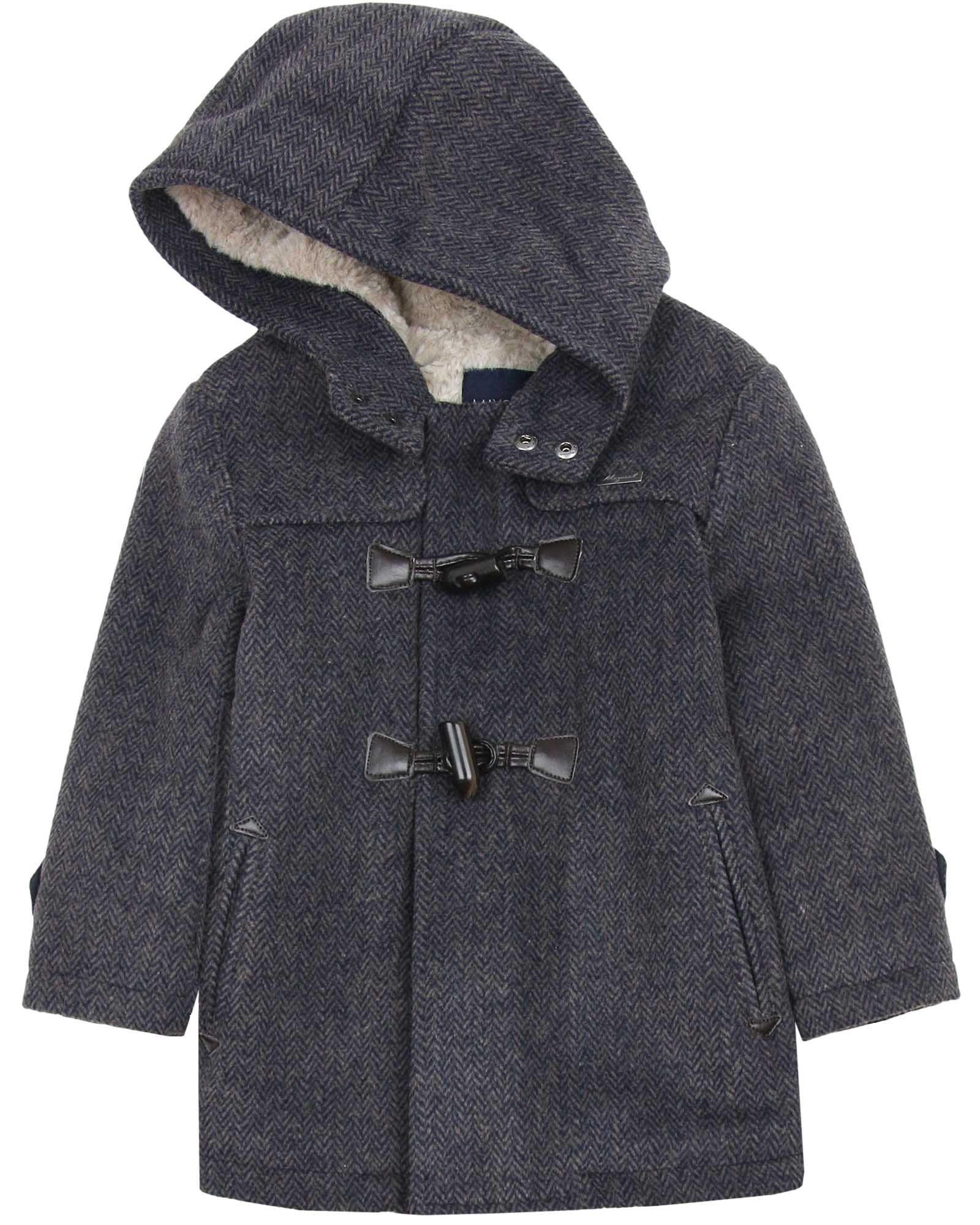 a1c1121502a7 Mayoral Boy s Gray Duffle Coat