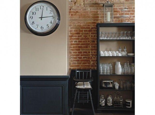 peinture associez les couleurs et les mati res deco pinterest murs clairs brique rouge. Black Bedroom Furniture Sets. Home Design Ideas