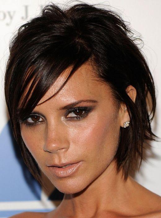 Kollektion Victoria Beckham Frisur Celebrity Frisuren Ideen
