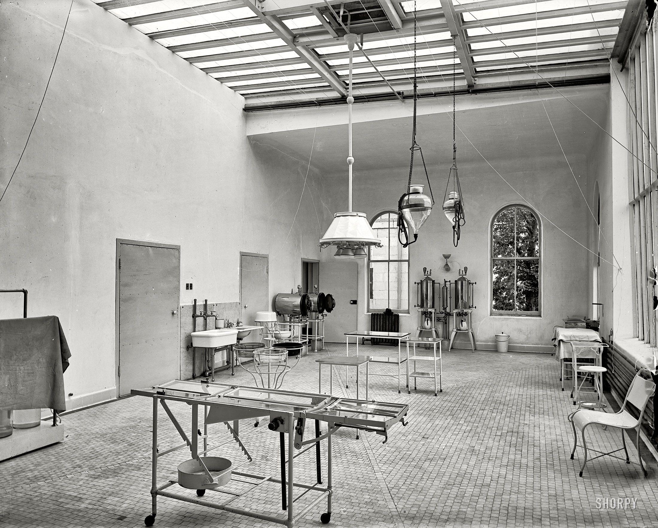 Brooklyn Navy Yard Hospital Operating Room 1900