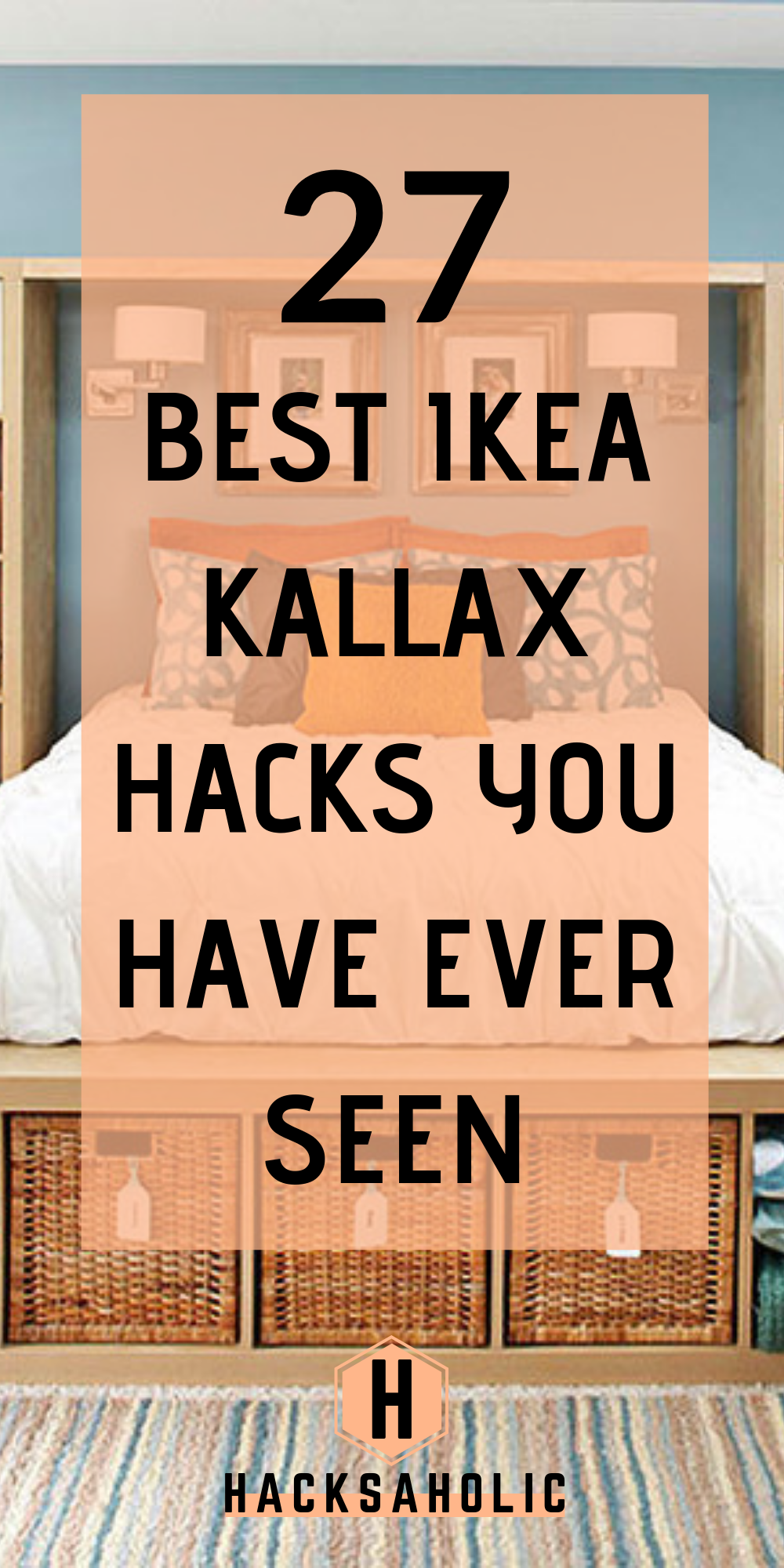 There are so many great Ikea Kallax hacks out there but which are the best? We've brought together the very best Ikea Kallax hacks for you in one place. You can create so many gorgeous and practical pieces of furniture with an Ikea Kallax. #ikeakallaxhacks #kallaxhacks #ikeahacks #ideas #inspiration
