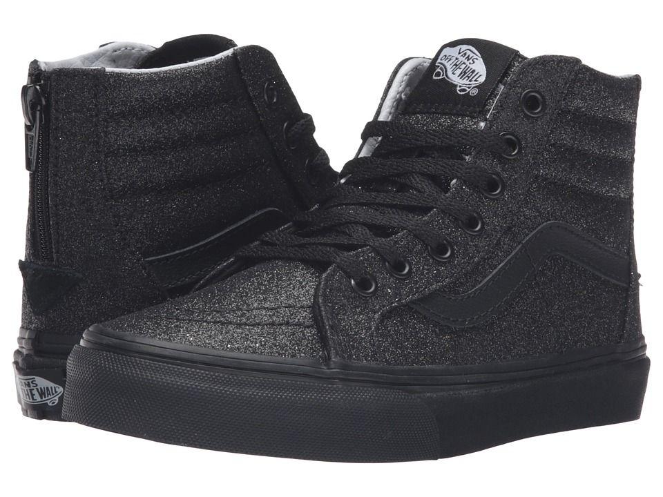 Vans Kids Sk8 Hi Zip (Little KidBig Kid) Girls Shoes