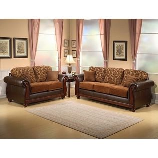 Comfort Industries 2 Pc Heritage Two Tone Chocolate