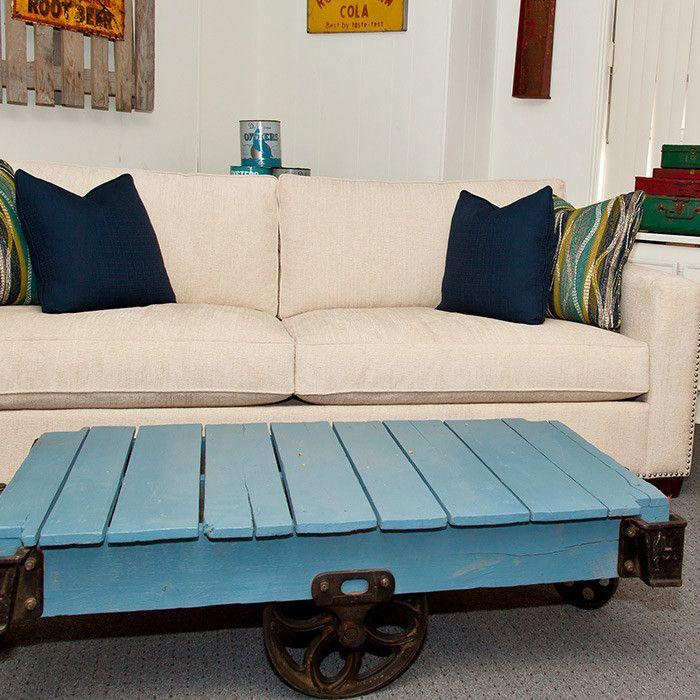 Cooper Sofa  Pallet Coffee Table!