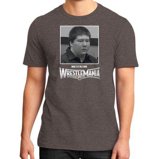 Brendan Dassey Wrestlemania District T-Shirt (on man) Shirt