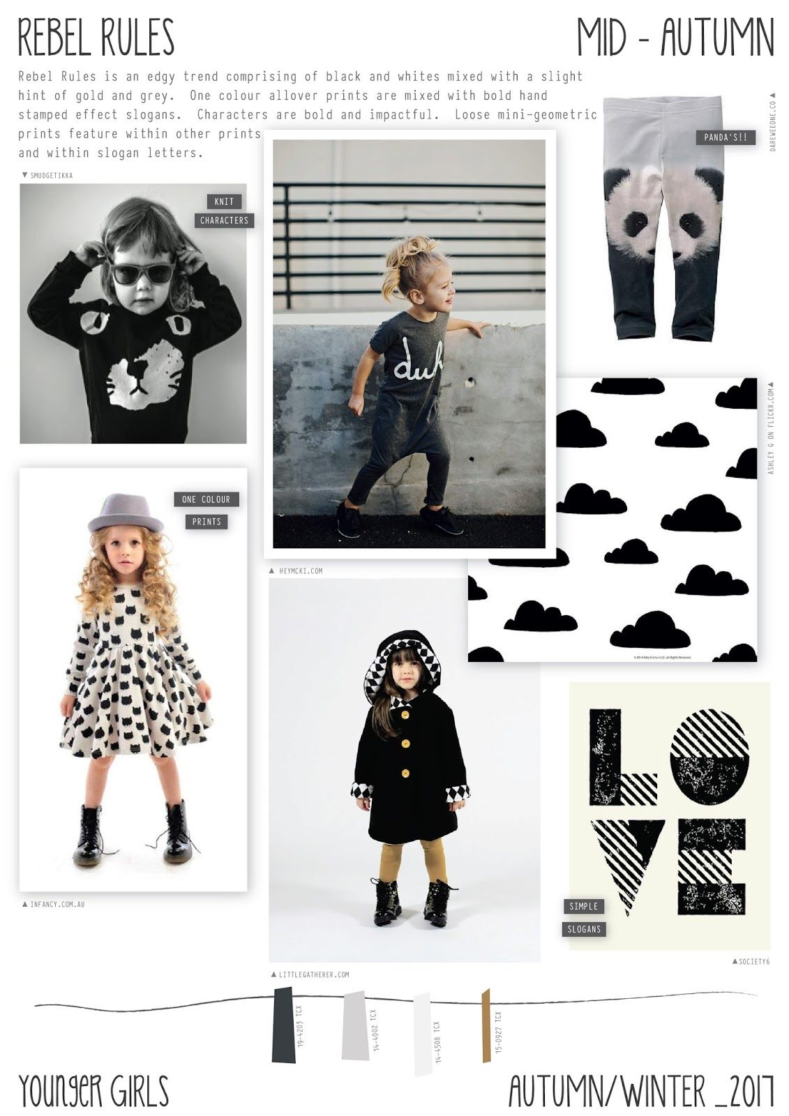 Emily Kiddy: Rebel Rules - Autumn/Winter 2016/17 - Younger ...