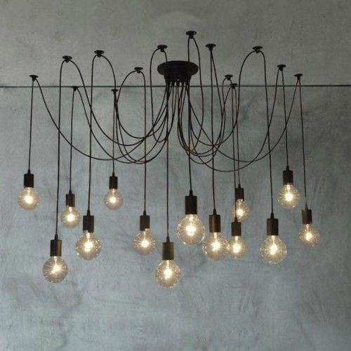 14 Heads Thomas Edison Bulb Chandelier Pendant Light Replica & 14 Heads Thomas Edison Bulb Chandelier Pendant Light Replica ... azcodes.com