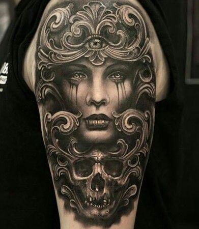 Pin By Adam Landin On Tattoo Ideas Tattoos Body Art Tattoos Skull Tattoos