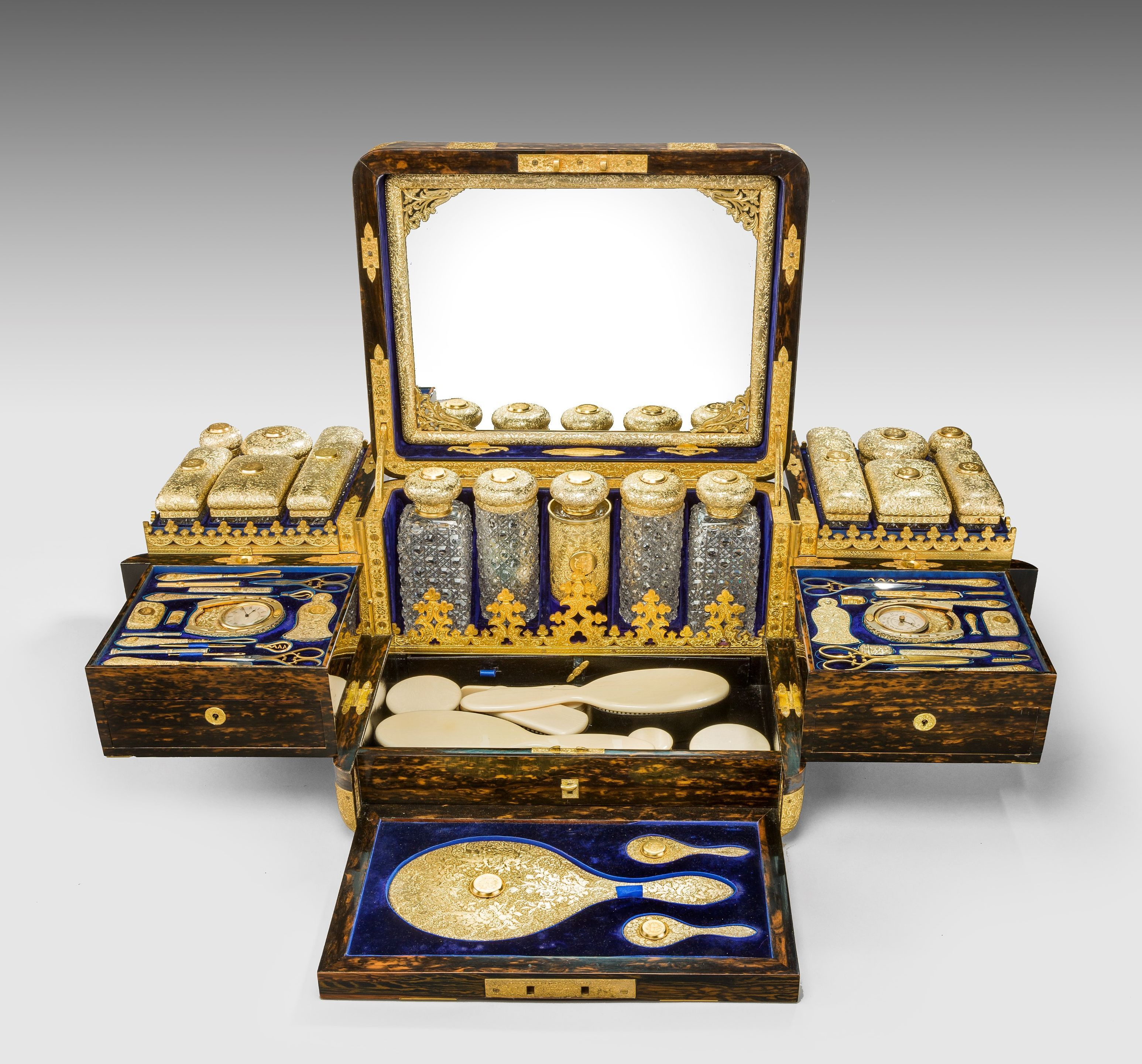 d93970eb6 A TRULY OUTSTANDING JENNER AND KNEWSTUB DRESSING CASE Richard Gardner  Antiques