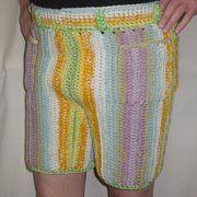 Men In Crocheted Pants Men In Crocheted Pants Crochet Shorts